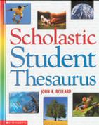Scholastic Student Thesaurus