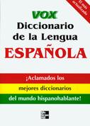 Vox diccionario de la lengua española - Vox Spanish Dictionary