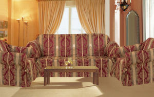 Sofa Loveseat Chair Covers/Slipcovers 3pc. Set-Burgundy