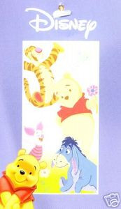 BRAND NEW Disney WINNIE THE POOH Bath/Beach/Pool Towel