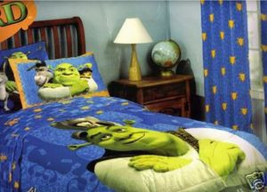 SHREK the Third 3 DreamWorks TWIN COMFORTER SET BEDDING