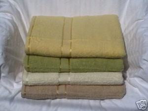 4 pc 100% COTTON SOLID BATH TOWELS SET new patent towel 491 1158