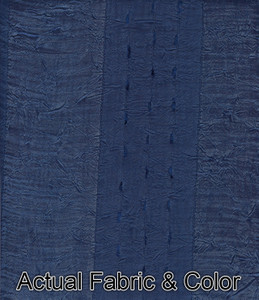Window Curtains/Drapes Set w/Tab Headings+TieBacks Blue