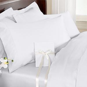"16"" Deep Egyptian Cotton Cal California King 4pc.Sheet Set"