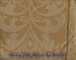 Sofa Loveseat Chair Slipcover slip cover Set -Dark Gold 141