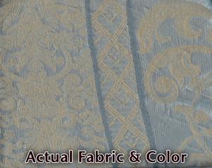 Sofa Loveseat Chair Slipcover slip cover Set  -  Blue