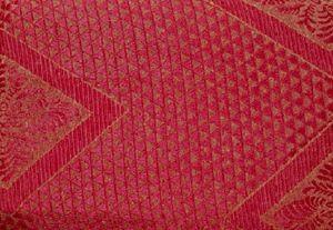 3 Pc. Slipcovers Set,Couch/Sofa+Loveseat+Chair Covers-Diamond Design-BURGUNDY