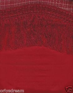 "New Elegant Curtain / Drape Set +Valance +Backing +Tie Backs ""Marisol"" BURGUNDY"