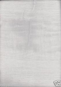 "New Premier Collection Elegant 2 Panels Curtain / Drape Set ""Carla"" - WHITE"