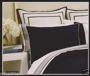 Over Size QUEEN 6pc Navy Blue HOTEL COLLECTION Bed Bedding NAUTICA Comforter Set