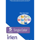 5 Pack Colored Overlays (single color)