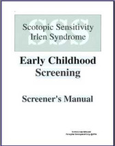 Irlen Early Childhood Screening Kit