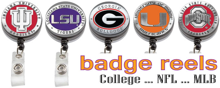 College and NFL Badge Reels