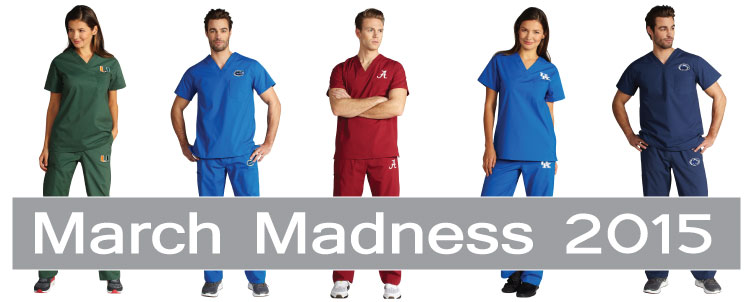 March Madness Scrubs for Nurses