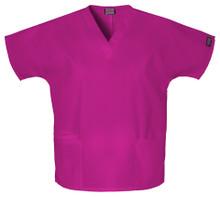 Cherokee Workwear : V Neck Scrub Top For Women-4700*