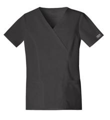 Cherokee Core Stretch 4728 :  Mock Wrap Scrub Top For Women*