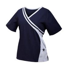 Dallas Cowboys Women's Two Tone Scrub Top