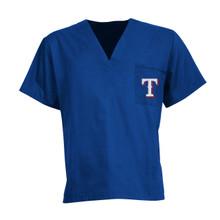 Texas Rangers MLB Scrub Top