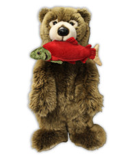 Bear with Salmon Stuffy