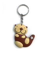 Sea Otter Key Ring