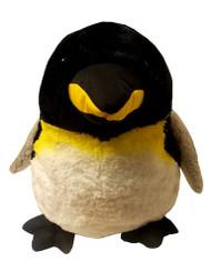 "Penguin King Plumpy Stuffy 14"""