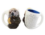 3D Sea Otter Mug