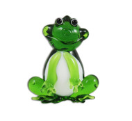 Sitting Frog Figurine