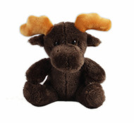 Moose Sitting Stuffy 6""