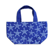 Blue Sea Star tote bag.