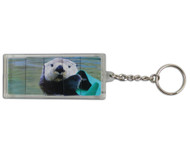 Sliding Sea Otter Key Ring