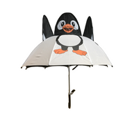 Penguin Umbrella 3D