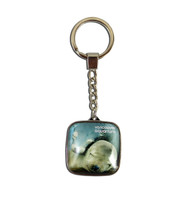 Square Sea Lion Key Ring
