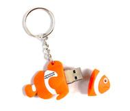 Clownfish Keyring USB
