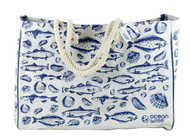Ocean Wise Tote Bag with Rope Handles