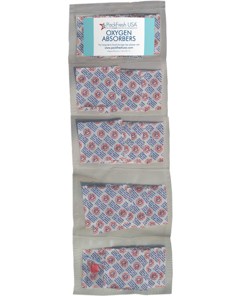 300cc oxygen absorbers in compartment packs