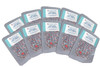 (100) 500cc oxygen absorbers in 10-packs for long term food storage