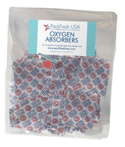 (50) 500cc oxygen absorbers for food preservation