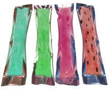 PackFreshUSA Silver and Clear Freezer Pop Bags