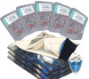 (50) Quart Premium mylar bags with 300cc oxygen absorbers