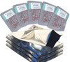 (50) Quart mylar bags with 300cc oxygen absorbers