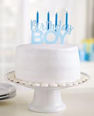 Mud Pie Birthday Boy Cake Topper