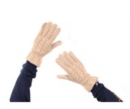 Simply Southern Knit Gloves - STONE