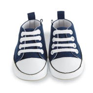 Mud Pie Navy Pre-Walker Tennis Shoes