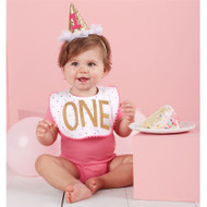 Mud Pie Confetti Cake Smashing Set - GIRL