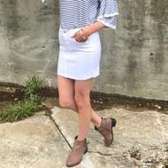 The Whitley White Skirt