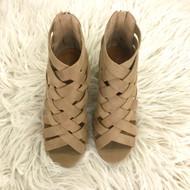 Horizon Natural Weaved Heels
