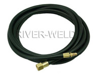 WP-18 TIG Welding Torch Water Cooled Power Cable Hose 25 Feet 5/8-18 & M16*1.5