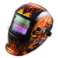 Fully automatic Welding Helmet Solar cells& lithium less than 20Amps TIG Welding