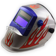 AUTO-DARKENING WELDING HELMET NO DAZZLING BUT SHINGING