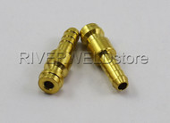 2pcs Male quick connectors for TIG welding torch